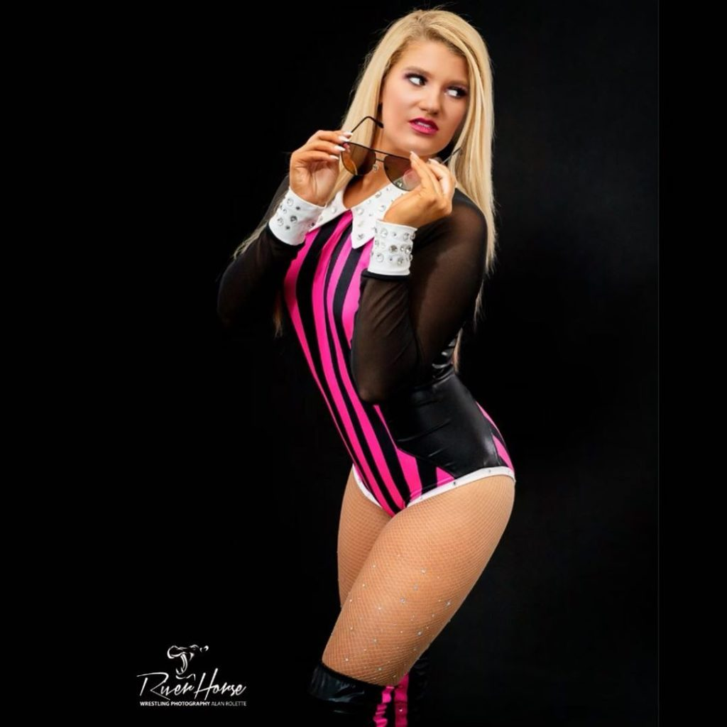 "Marina Tucker, The ""Mean Girl"" of Professional Wrestling"