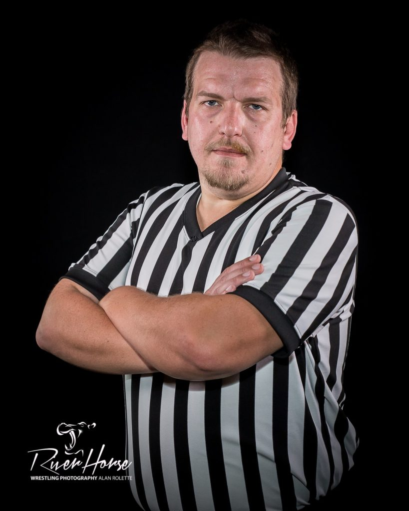 Referee Kent Klausner